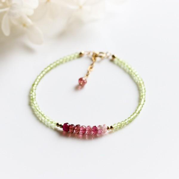 The peridot of the sun and the tourmaline bracelet of power to bring love