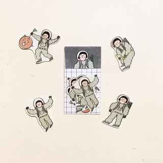 Buddy | Space Roaming | Sticker Pack