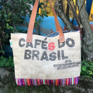 Environmental protection bag / cotton / linen / limited manual / Wen Qing essential / green shopping bag / coffee linen bag / love the earth