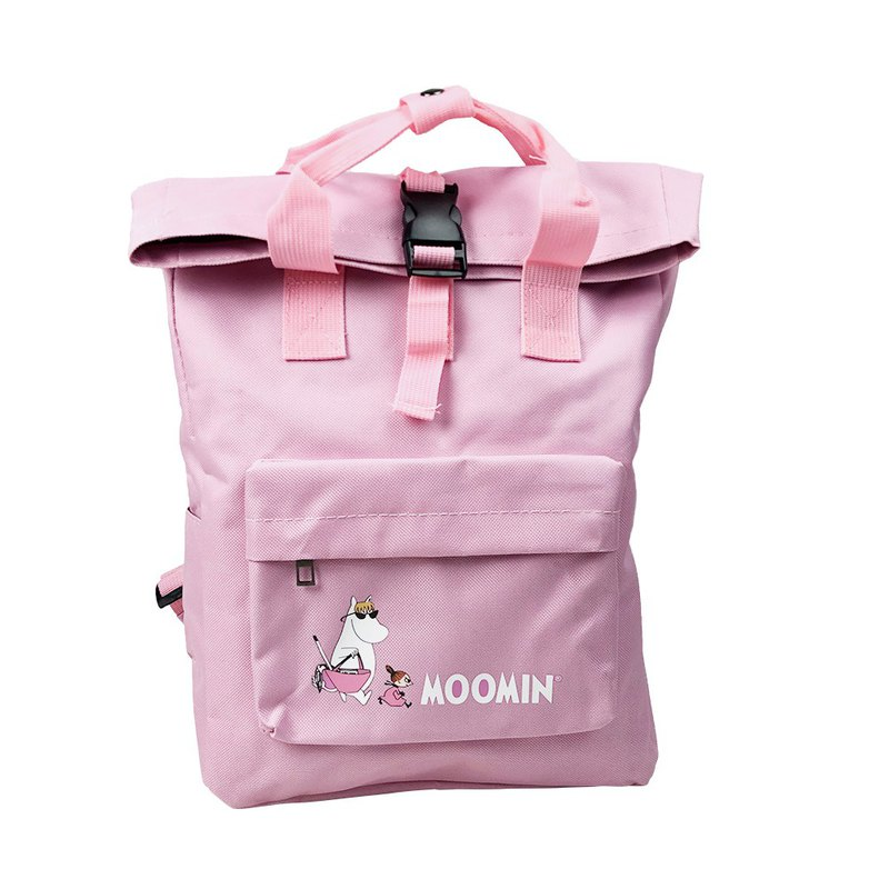 Moomin 噜噜米 authorized - open buckle backpack (powder), AE07