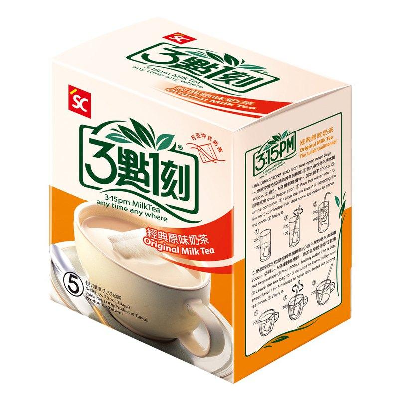 【3點1刻】經典原味奶茶 5入/盒