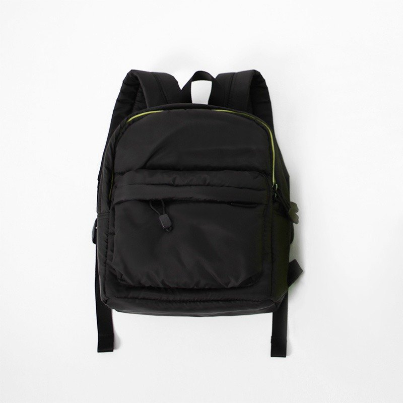 Backpack (small). Black ╳ yellow