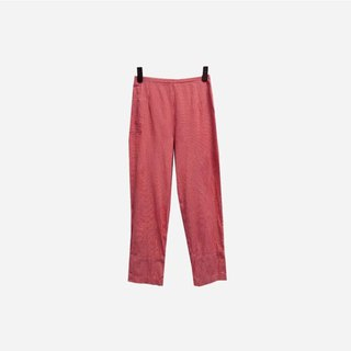 Dislocation vintage / red and white plaid pants no.113 vintage
