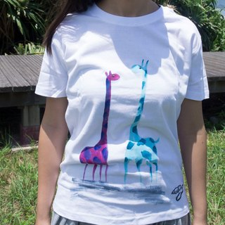 Winwing hand-painted clothing - giraffe