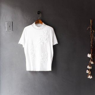 River Water Mountain - Hokkaido Pure Snow White Carved Handle Antique Cotton Shirt Tops shirt oversize vintage