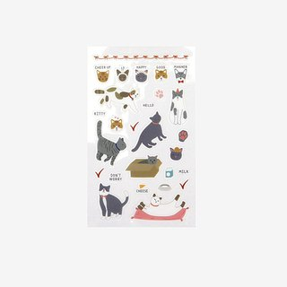 Dailylike beautiful day stickers -07 cats, E2D02513