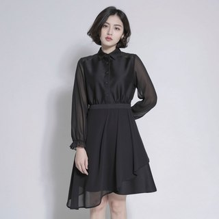 2018 Early Autumn New Products / Illusory Fantasy Spinning Dress _8AF103_Black