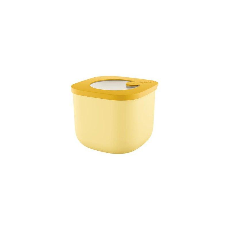 750 ML萬用保鮮盒-鵝黃(深款/小)