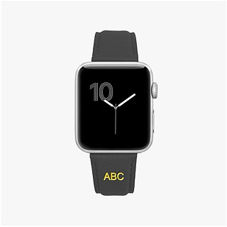Multicolor Genuine Leather Goatskin Series Macaron Dream Grey Apple Watch Apple Watch Strap