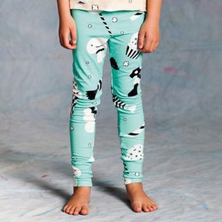 2016 spring and summer koolabah Candy print legging (mint green / color)