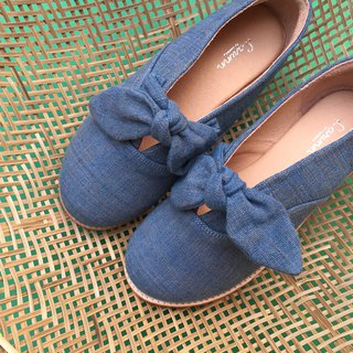 Bento Indigo shoes
