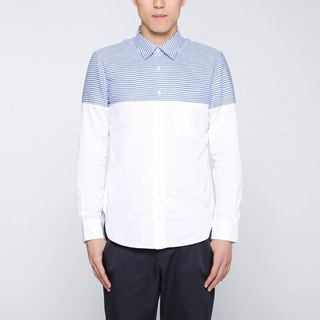 Kyle Shirt Collagen Collision Shirt - Blue