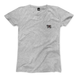 nice to MEAT you - Cattle - Deep Heather Grey - Women's T-Shirt