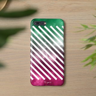 iphone case green and pink sky for iphone5s, 6s, 6s plus, 7, 7+, 8, 8+, iphone x