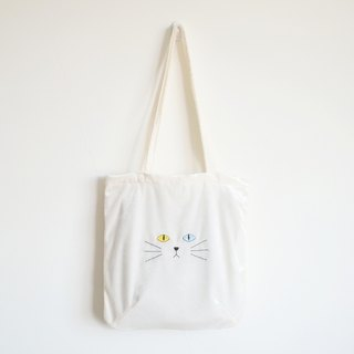 'khao manee' cat tote bag