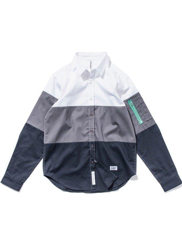 1eb8ff6b0746 [Picks] DeMarcoLab splicing MA-1 shirt Made in Taiwan Taiwan brand fabric  high poundage only a good S - Designer chainloop | Pinkoi