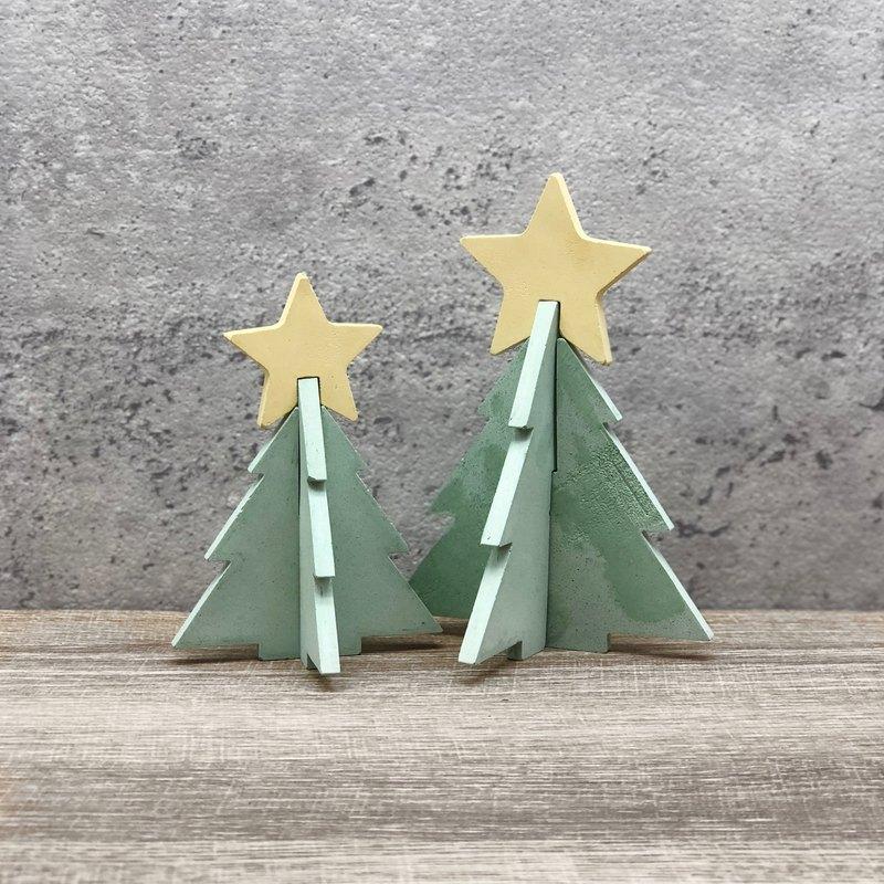 星星聖誕樹擴香石