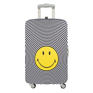 LOQI Luggage Jacket / Smiley [L]