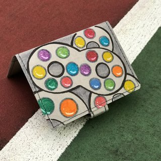 Washable Craft Paper . Handdrawn/ childhood/ snack/ candy/ sweet/ HongKong/ cardholder