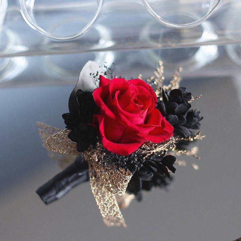 【一人成團】不凋花 乾燥花 婚禮胸花(單朵) 手作體驗活動 台中