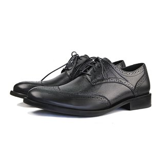 Lux M1090 Black Derby Shoes