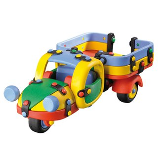 Micomic German exquisite craft toy - Classic tricycle