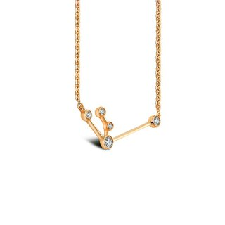 Aquarius Diamond Necklace
