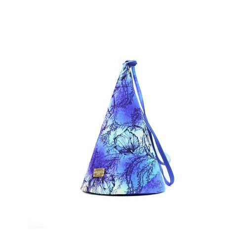 Hong Kong designer brand BLIND by JW cone Backpack (Blue Ocean)