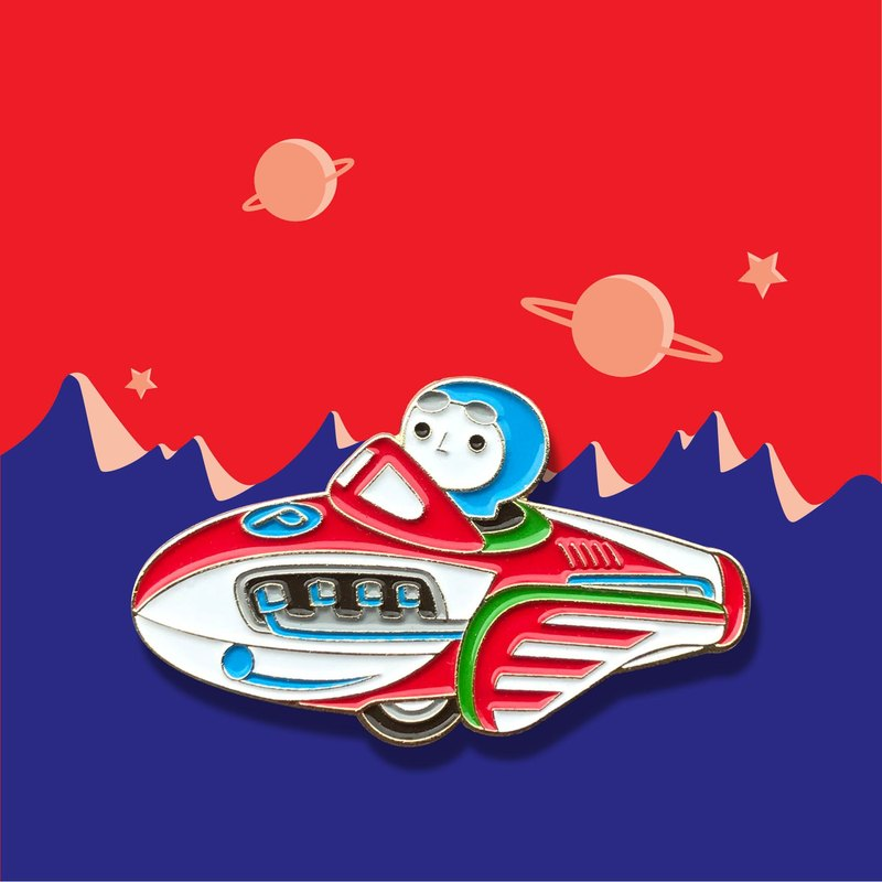 Rocket Racer Pin