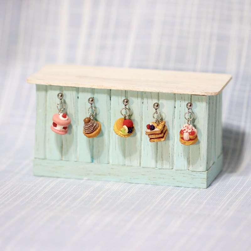 Miniature French Dessert Earring Set