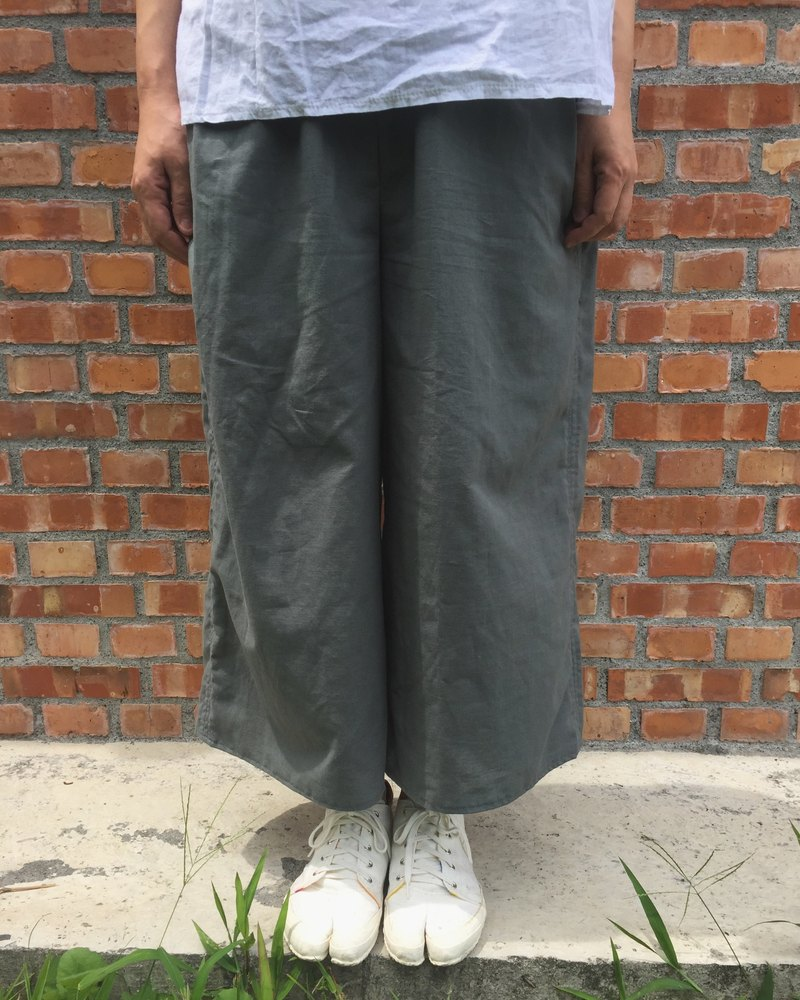 New spring and summer cotton paralyzed shape wide tube pocket pants multi-color custom