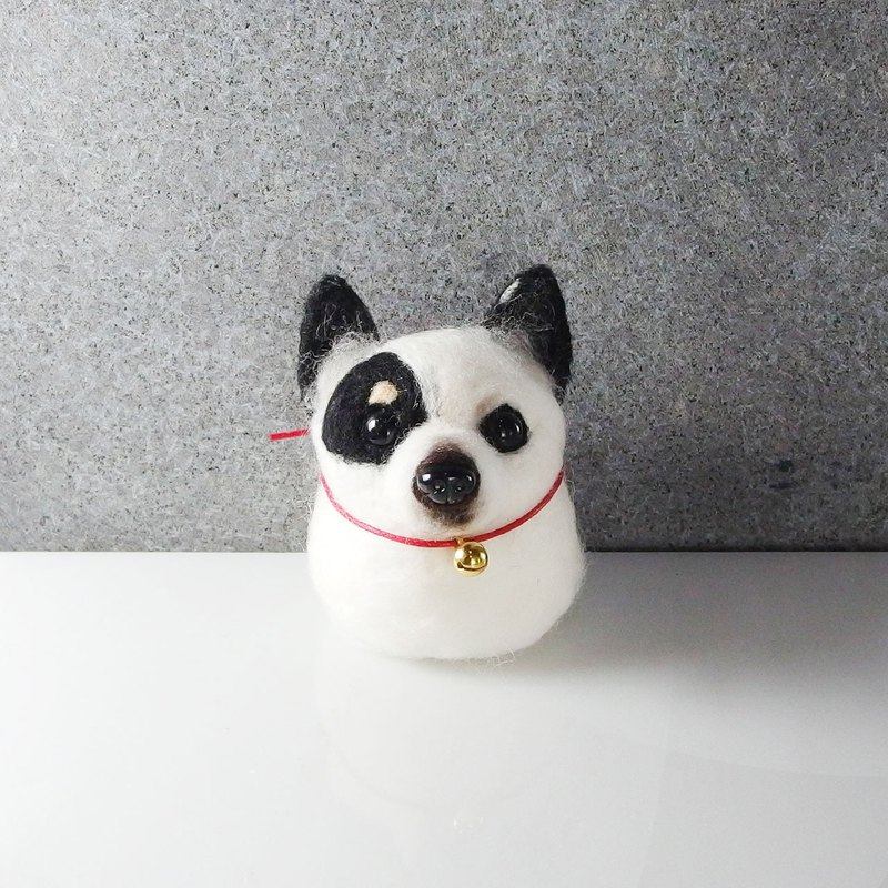 Wool felt Chihuahua pill [feiwa 霏 手 hand] pet doll (welcome to order your dog)