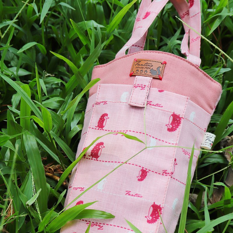 Thick sense environmental protection mobile phone beverage bag (walking first line) cherry powder