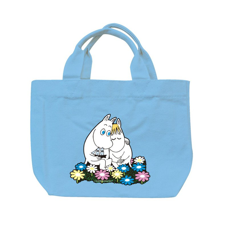 Moomin 噜噜米 authorized - color tote bag - [Fall in love], AE01