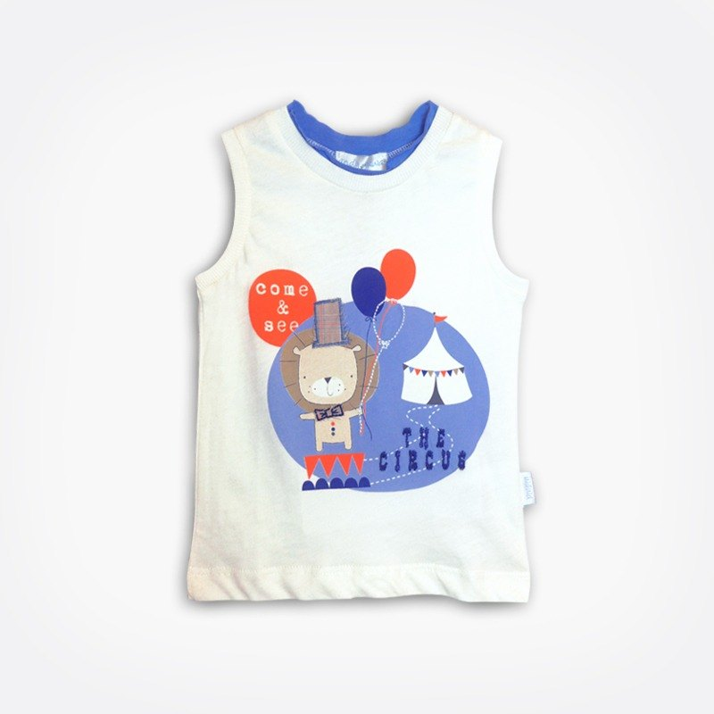 Lion Circus cotton vest