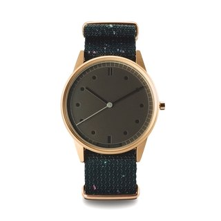 ACID DUST Psychedelic Stardust Watch (Replica Limited Edition) - Rose Gold