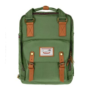 Doughnut Waterproof Macaron Backpack - Olive Green