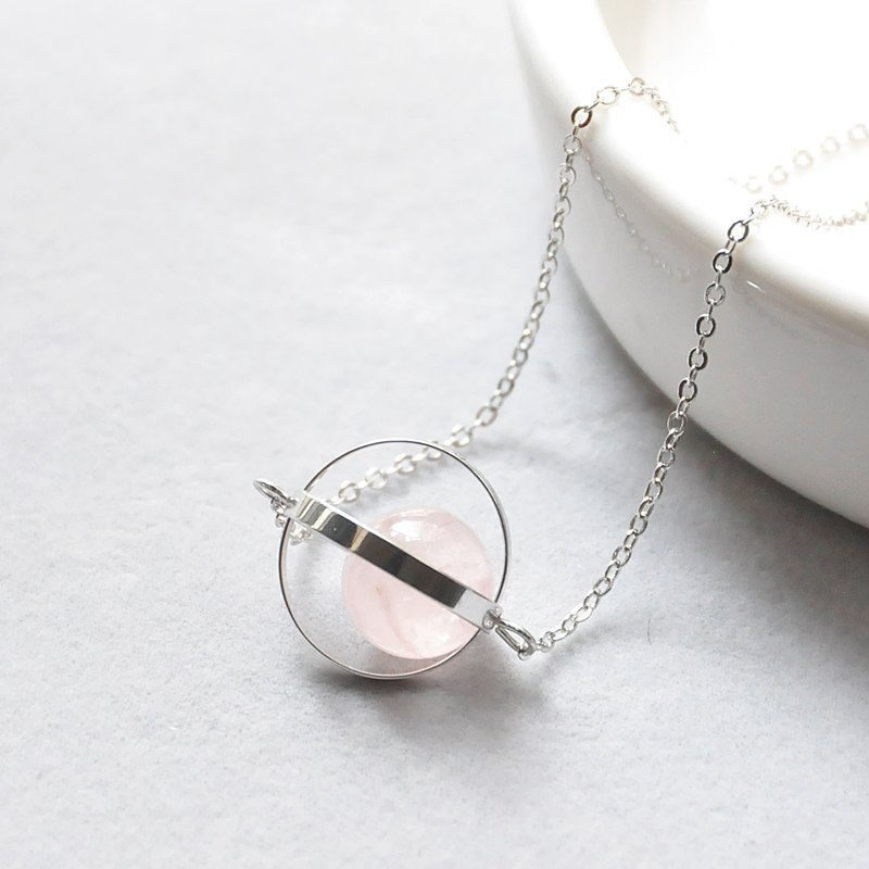 Love the planet. universe. Silver ring. Powder crystal. Necklace Love Planet. Galaxy. Sliver Ring. Rose Quartz. Necklace. birthday present. Girlfriend gift. Sister gift