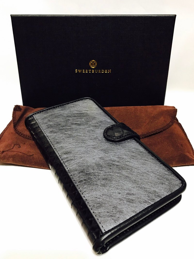 SWEETBURDEN Silk Cowhide - IPhone7/8 Plus Handmade Spot Products