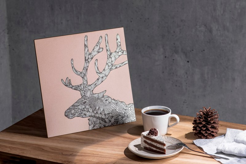 Elk-Aluminum Decorative Panel-Tes Edition Decor Board AL6061