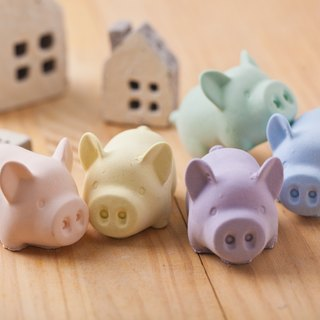 ★ sample clear ★ fragrance happy ★ mosquito coils pig - enamel samples - SoaPenny -