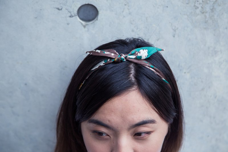 No wire strap headband headbands mottled ::: :::