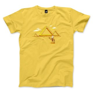 Penrose Triangle - Yellow - Unisex T-Shirt