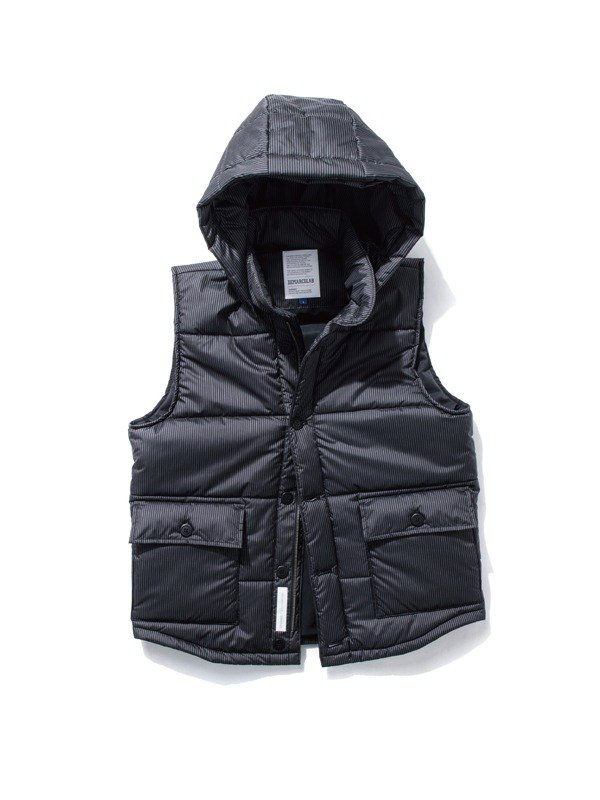 [Picks] DeMarcoLab striped hooded waterproof Taiwan Made in Taiwan brand only last a number vest L