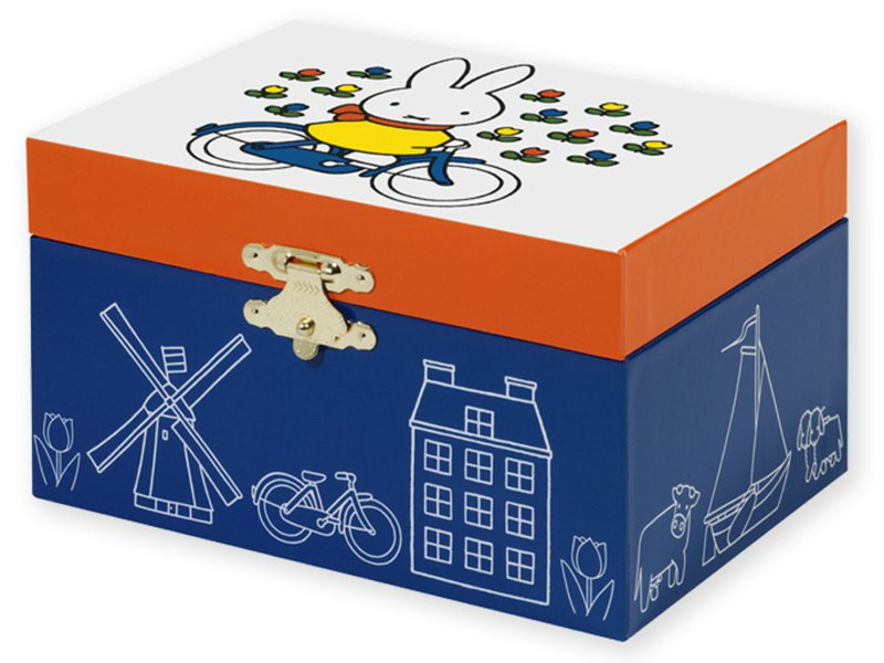 Miffy jewelry box bicycles