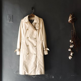 岐阜 俐 俐 俐 autumn girl antique thin windbreaker jacket trench_coat dustcoat