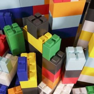 EverBlock Used Kit – Mixed Building Blocks (Multicolor)