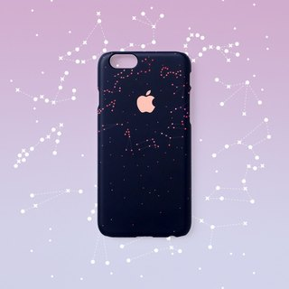 iPhone case - Asterism - for iPhones - non-glossy hard shell D13
