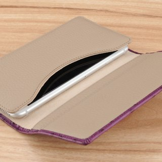 STORYLEATHER made (APPLE iPhone series) Style V business card holder custom leather case