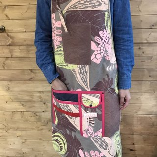 Hand serigraphy Long Apron